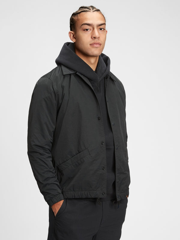 Gap Nylon Coaches Jacket -Moonless Night