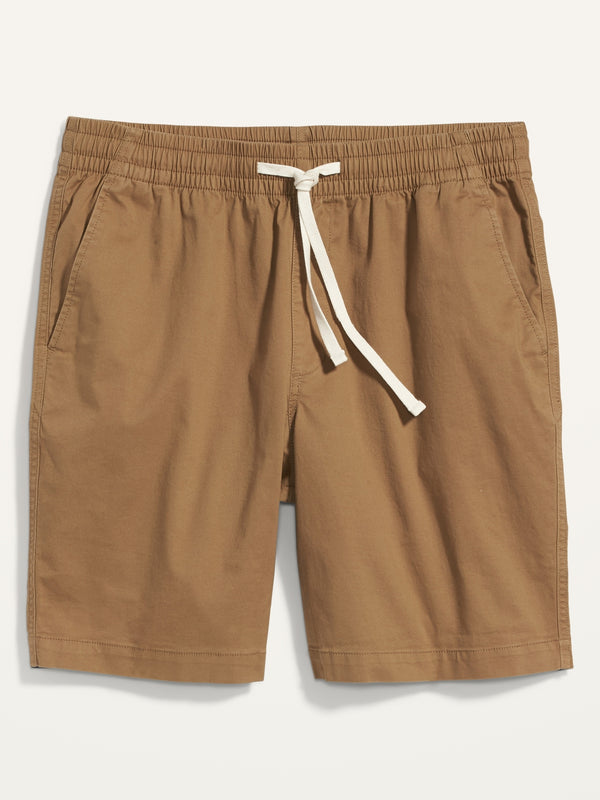 ON Twill Jogger Shorts For Men -- 9-Inch Inseam - Doe A Deer