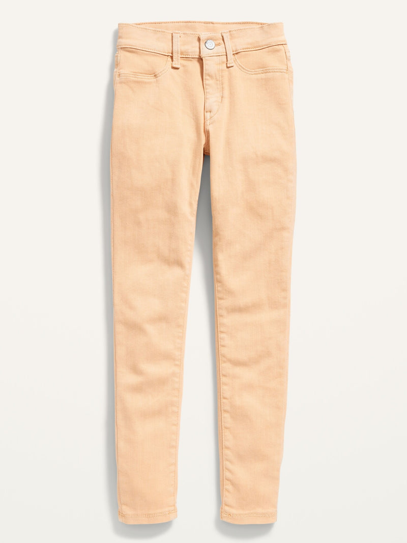 ON Ballerina Built-In Tough Pop-Color Jeggings For Girls - Eco Pink