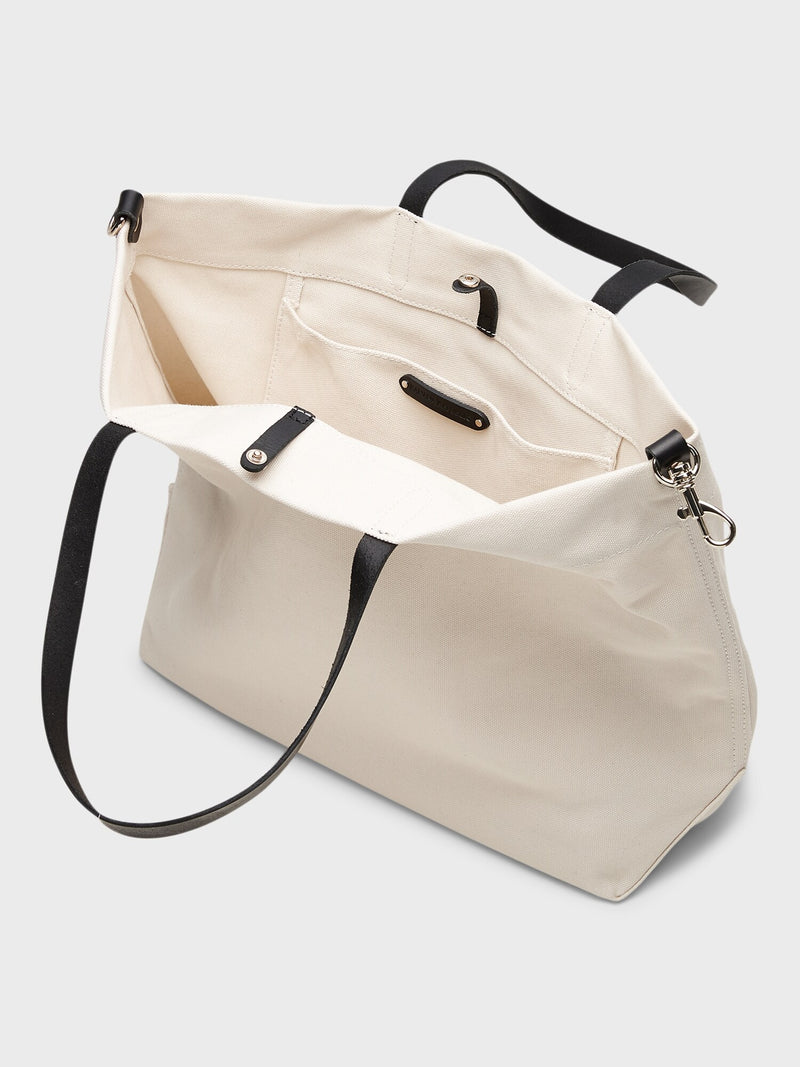 BR Canvas Tote - Natural
