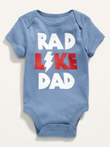 ON Graphic Bodysuit For Baby - Dad