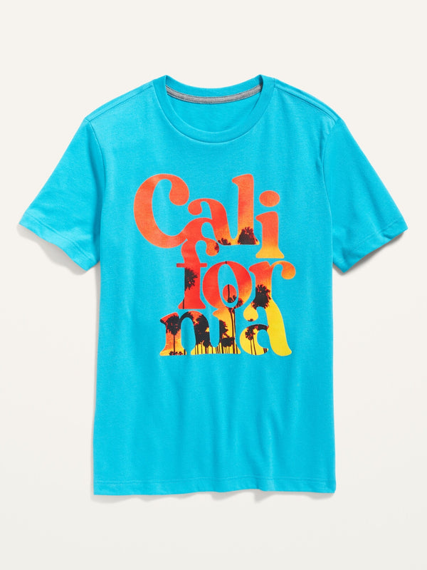 ON Crew-Neck Graphic Tee For Boys - Alinda Bay