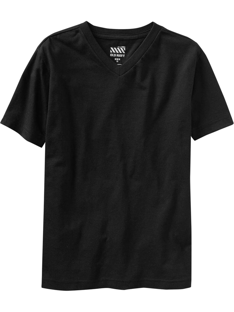 ON Camiseta Softest V-Neck Tee For Boys - Negro Jack