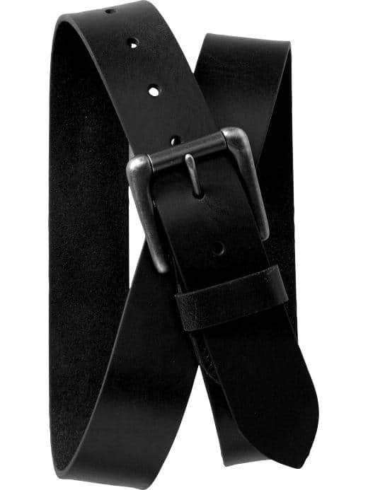 ON Accesorio Bonded Leather Belt for Men - Negro Jack