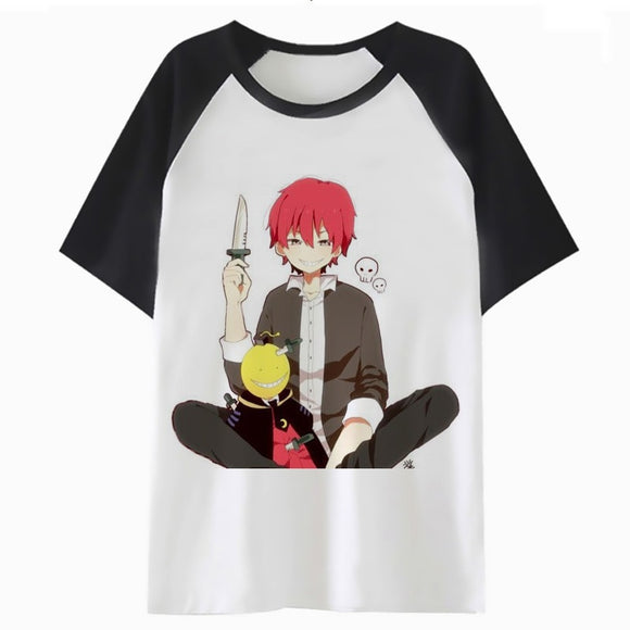karma akabane t shirt for t-shirt tshirt men top harajuku streetwear male clothing funny hop tee hip P1524