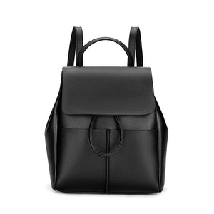 Ceossman Fashion Women Backpack High Quality Youth Leather Backpacks For Teenage Girls Female School Shoulder Bag Bagpack