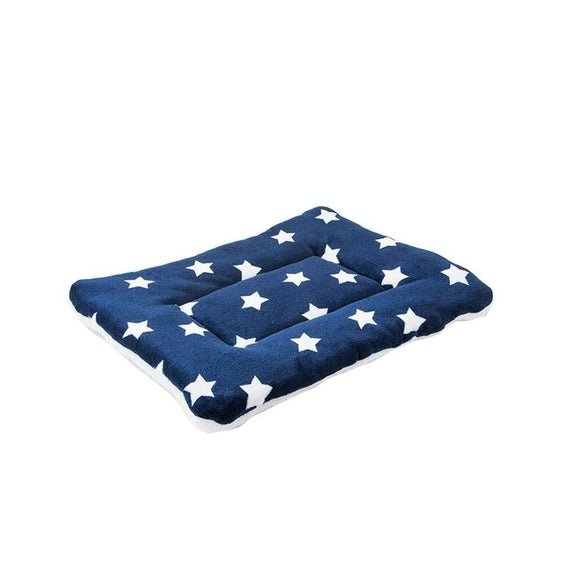 Star Print Dog Mat