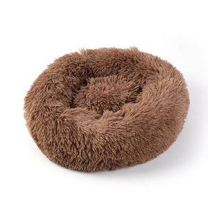 Soft Donut Dog Bed