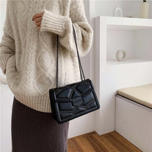 Load image into Gallery viewer, Ritzy Leather Crossbody-Clutch Bag