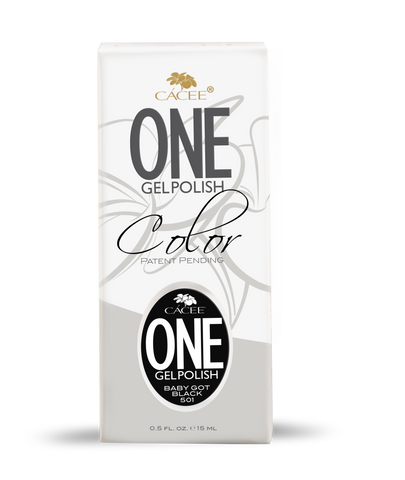 Cacee ONE Baby Got Black 15ml - CN Nail Supply