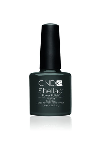 CND Shellac Asphalt 7.3ml - CN Nail Supply