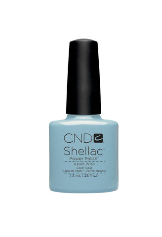 CND Shellac Azure Wish 7.3ml - CN Nail Supply
