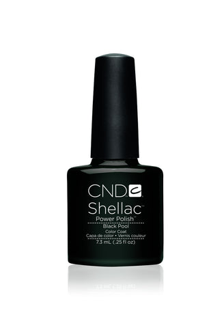 CND Shellac Black Pool 7.3ml - CN Nail Supply