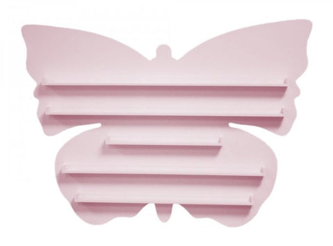 Butterfly Shaped Polish Shelf 90btls - CN Nail Supply