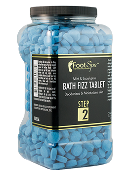 Foot Spa Bath Fizz Tablets - CN Nail Supply