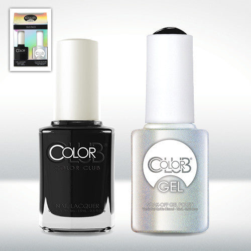 Color Club Where's the Soiree Gel Duo Pack - CN Nail Supply