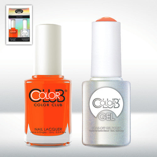 Color Club Wham! Pow! Gel Duo Pack - CN Nail Supply