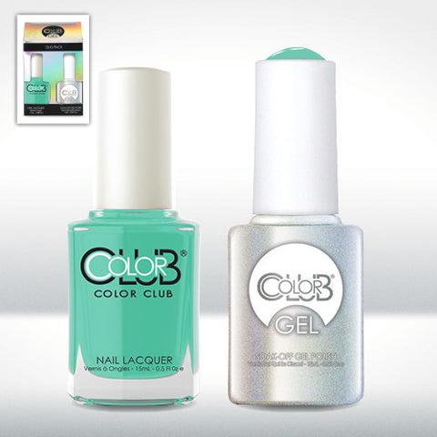 Color Club Age of Aquarius Gel Duo Pack - CN Nail Supply