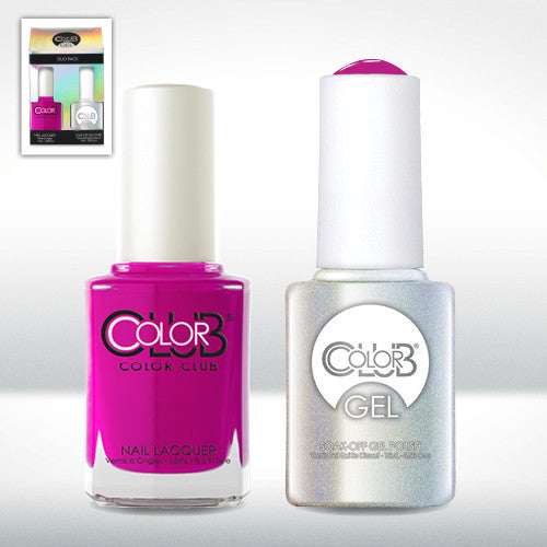Color Club Mrs. Robinson Gel Duo Pack - CN Nail Supply