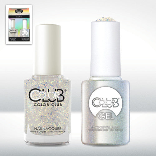 Color Club Snowflake Gel Duo Pack - CN Nail Supply