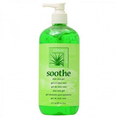 Clean + Easy Soothe Aloe Vera Gel 16oz - CN Nail Supply