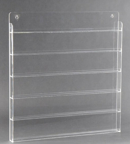 Clear Acrylic Nail Polish Shelf 90btls - CN Nail Supply