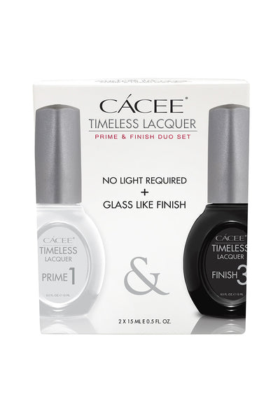 Cacee Timeless Prime + Finish Duo Set - CN Nail Supply