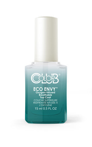 Color Club Eco Envy Top Coat 15ml - CN Nail Supply