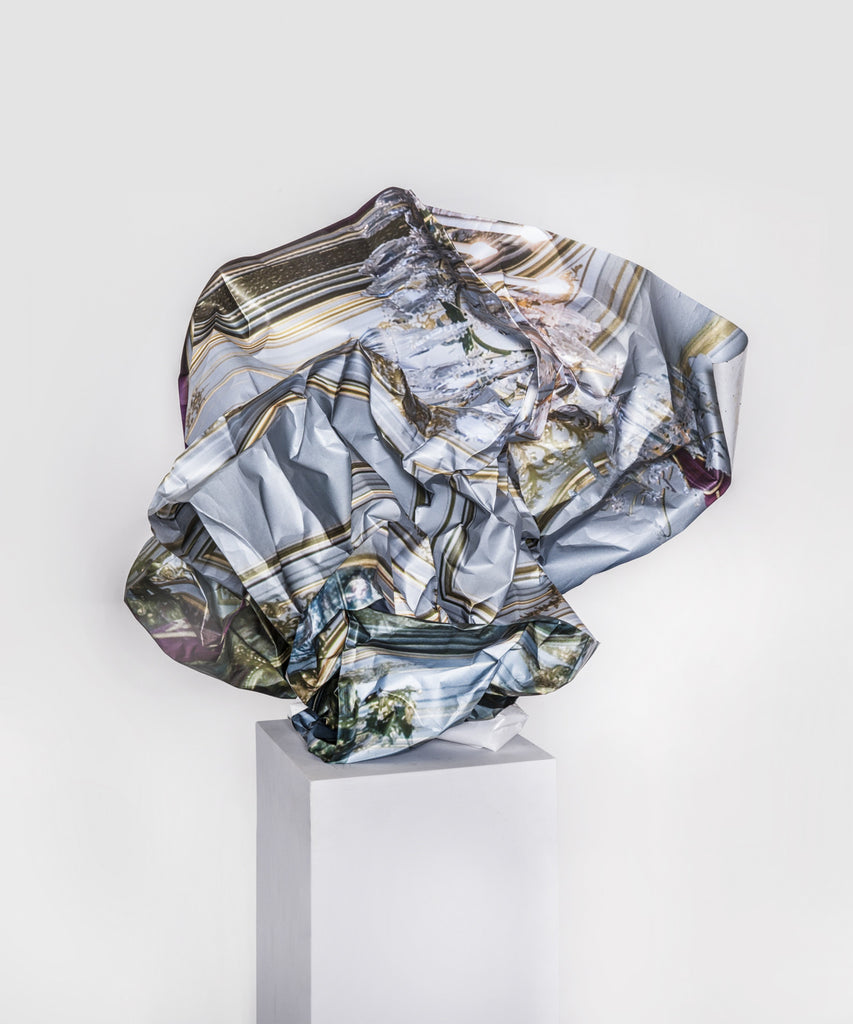 "Jo Karlins, ""Crumpled Backdrop"""