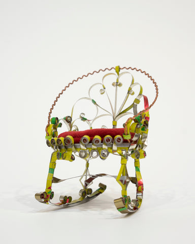 "Unknown, ""Fancy Rocking Chair"" SOLD"