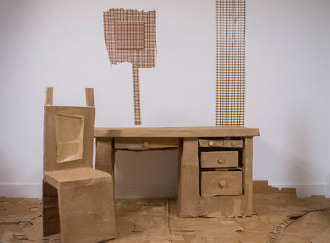 "Ali Shrago-Spechler, ""Desk"" SOLD"