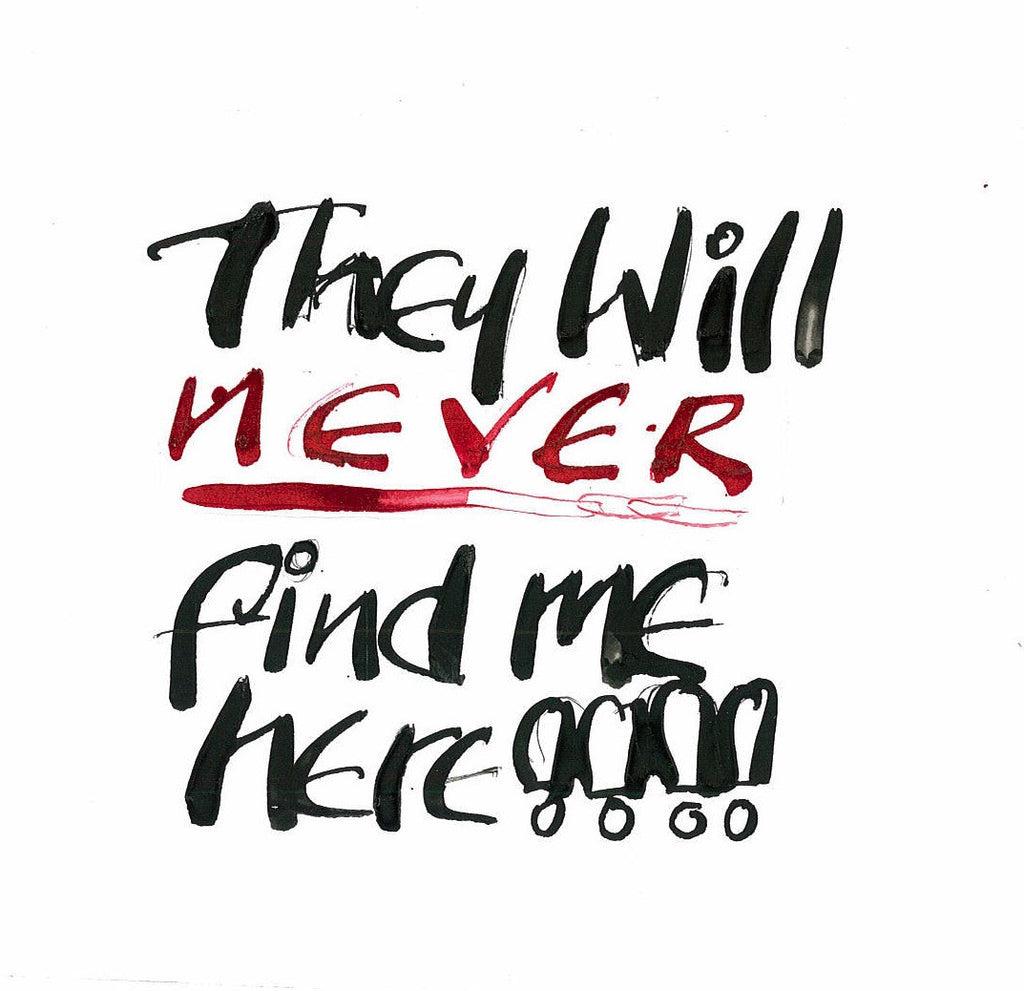 "Anthony Haden-Guest, ""They Will Never Find Me"""