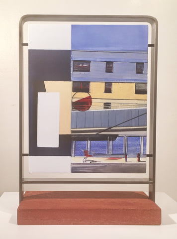 "Rebecca Chamberlain, ""Williamsburg Public Housing, Mural Diffusion Storefront"""