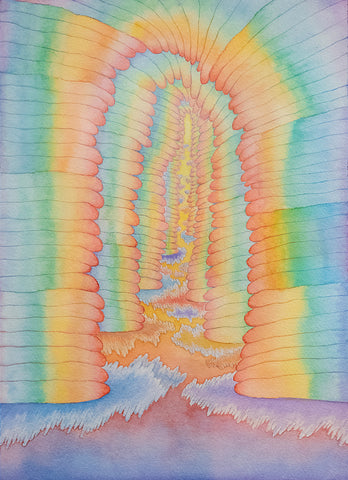 "Yen Yen, ""Rainbow Stacks"""