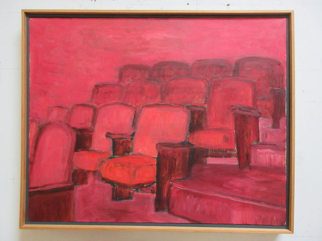 "Yoichiro Yoda, ""Harem Theater Seats"""