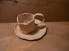 "Ali Shrago-Spechler, ""Tea Cup and Saucer (2)"" SOLD"