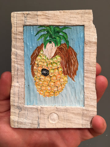 "Brent Owens, ""Pineapple Puppy"""