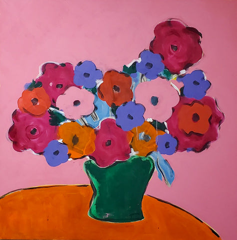 "Gordan Douglas Ball, ""Pink Bouquet"""