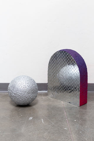 "Kenzie Wells, ""Foil Ball Modular Materials"""