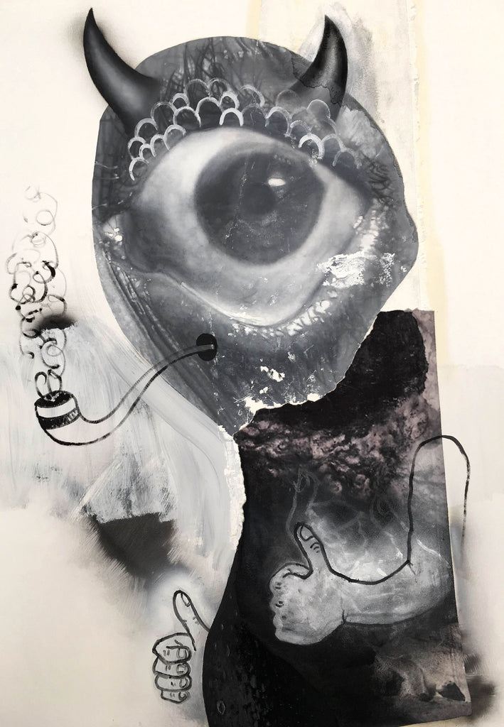 "Eric Helvie, ""Pipe Smoker (Cyclops)"""