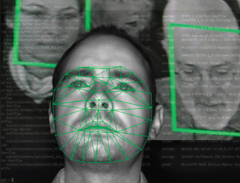 "Anita Cruz-Eberhard + David Howe, ""Soft Facial Recognition"""