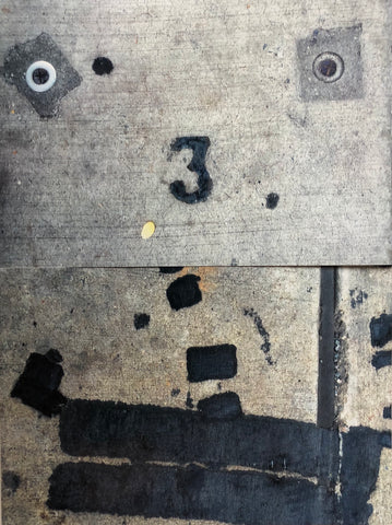 "Pat Place, ""Untitled (Street Markings) (#12)"""
