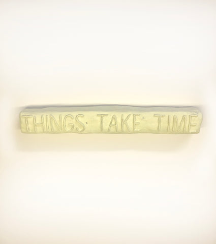 "Corey Escoto, ""Things take Time"""