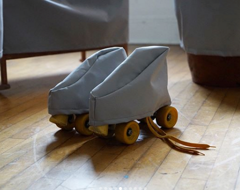 "Jenny Rask, ""Beloved Object (Roller Skates)"""