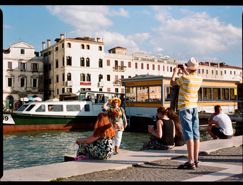"Andrew Gori + Ambre Kelly, ""Mother/Son-Grand Canal, Venice"""