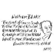 "Anthony Haden-Guest, ""Enough is Nothing!!! William Blake"""