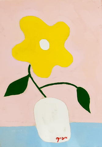 "Gordan Douglas Ball, ""Yellow Flower"""