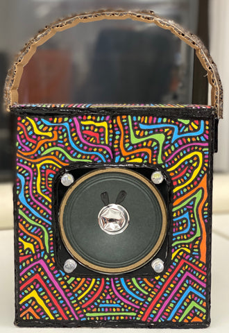 "Adama Abib Coulibaly, ""Handmade Bluetooth Speaker"""
