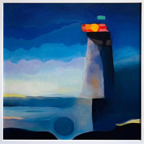 "Anne Spalter, ""Lighthouse of the Mind"" SOLD"