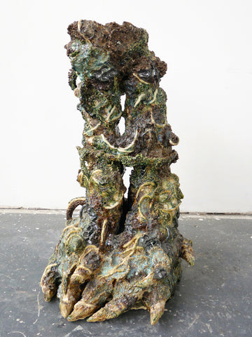 "Heidi Lau, ""Pillars Of The Earth (Modeled After Lonesome George)"""